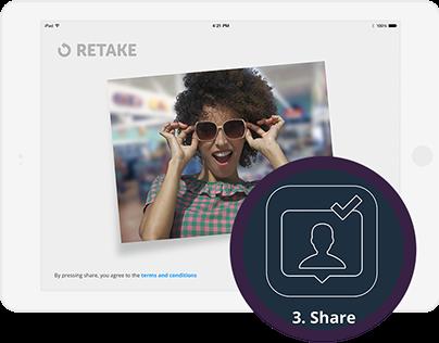 Photobooth Tablet Kiosk
