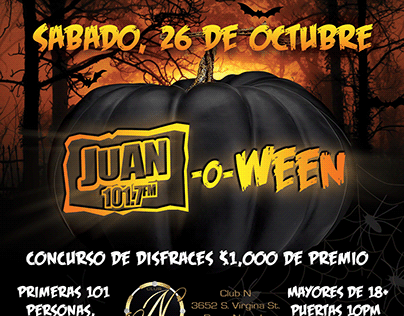Juan-o-Ween Event Branding and Logo