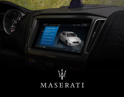 Maserati User experience design
