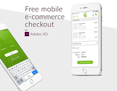 Free Mobile E-commerce Checkout