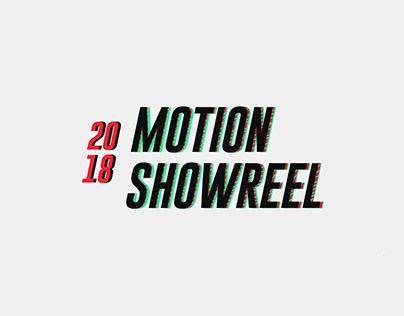 Motion Showreel '18