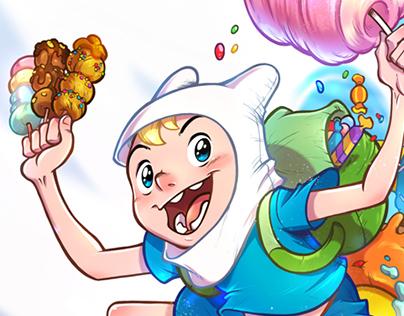 Fan-art Adventure time