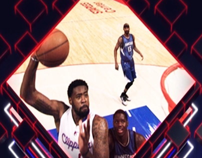 Los Angeles Clippers | Court Projection | Sports Intro