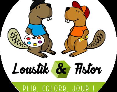 LOUSTIK & ASTOR - Jeux écologiques en carton