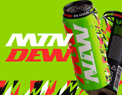 Rebrand MOUNTAIN DEW - for fun
