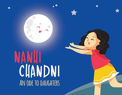 Nanhi Chandni - Music Video   2D Animation