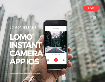 Lomo'Instant Camera App IOS - Capture your great moment
