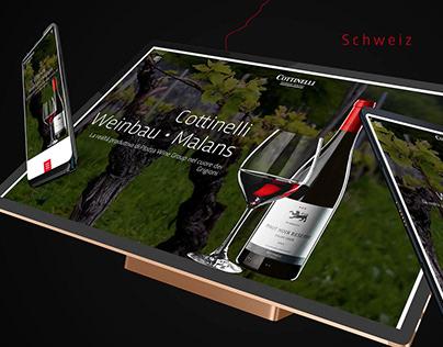 Grafica sito web e sviluppo - Cottinelli
