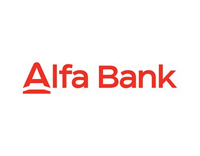 Alfa Bank Branding Concept