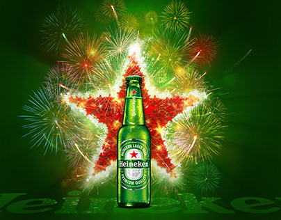 Heineken Festive illustration
