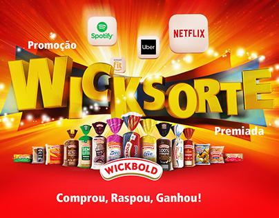Promoção Wick Sorte Premiada.