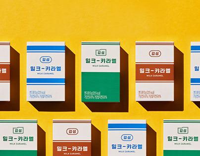 Gam-Sung Market Branding