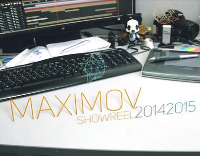 Aleksandr Maximov ShowReel 2014 - 2015