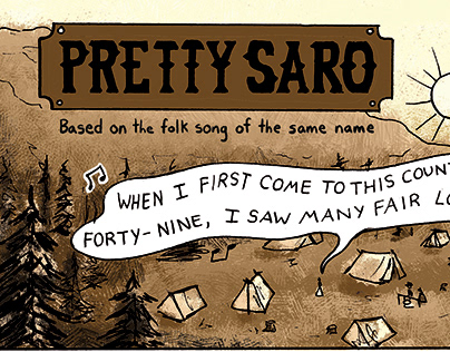 Pretty Saro Comic