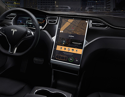Tesla interface