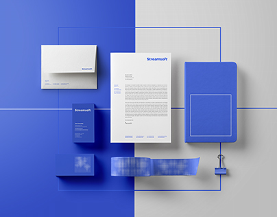 Streamsoft brand identity
