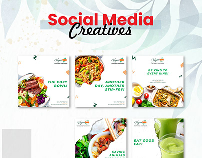 Food Social Media Posters