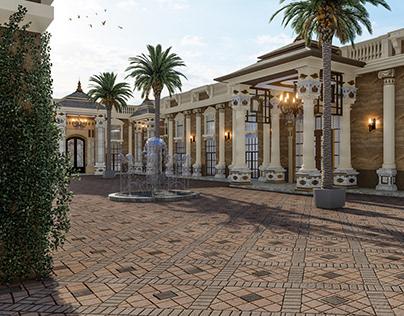 Mubarak Rest Lounge, Riyadh, KSA