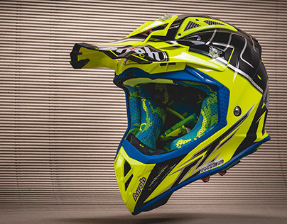Airoh Aviator motocross helmet photography