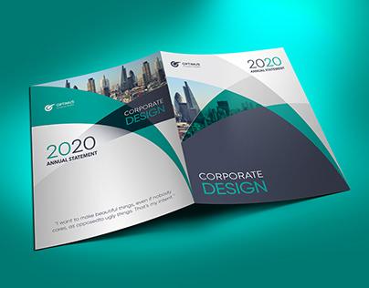 Corporate Presentation Folder Design