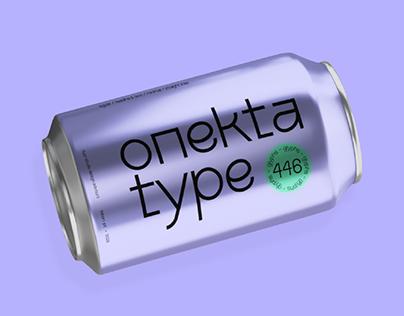 Onekta Typeface