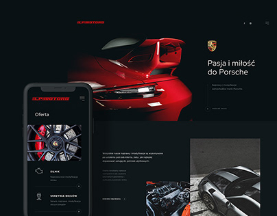 LPMotors - web design