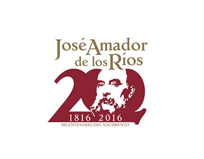 Logotipo Bicentenario José Amador de los Ríos