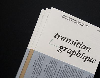 Transition graphique