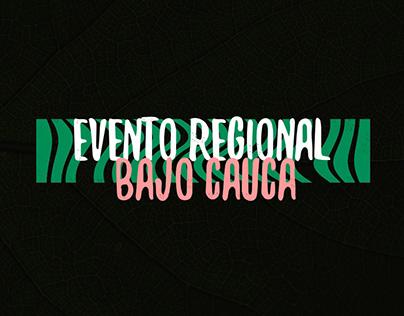 Evento Regional Bajo Cauca | Landing page