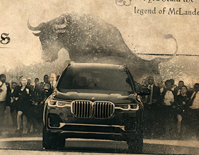 BMW Legend Making Of Title Cards