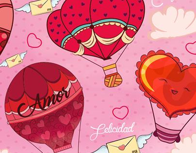 ilustraciones amor y amistad