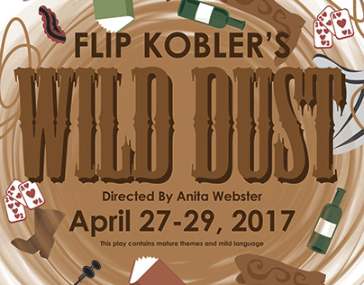 Wild Dust Play Poster