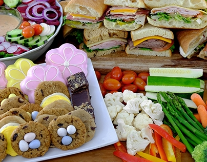 Monthly Special Sandwich and Combo Party Platter