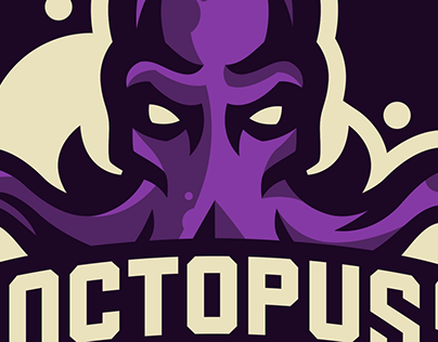 OCTOPUS Mascot logo, for sale.