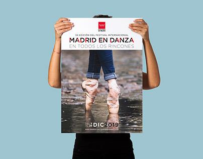 Cartel Madrid en Danza 2019