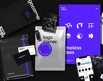 logocorner. Brand Identity Design Rebranding