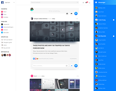 Facebook Redesign