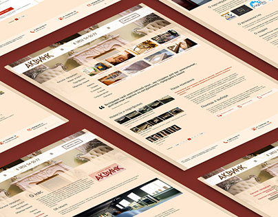 Akvink. Design, HTML&CSS. 2014
