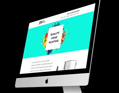 Steve Painter (webdesign sample template)