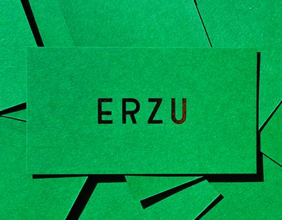 ERZU - brand identity