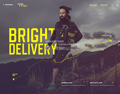 Diadora: Bright Delivery