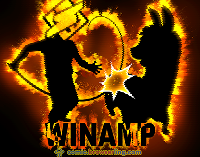 Winamp - Weekly Web-comic for Developers