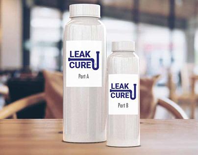 Leak Cure Logo Mockup