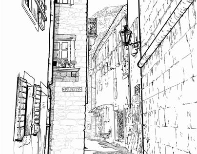Wandering in Kotor, Montenegro