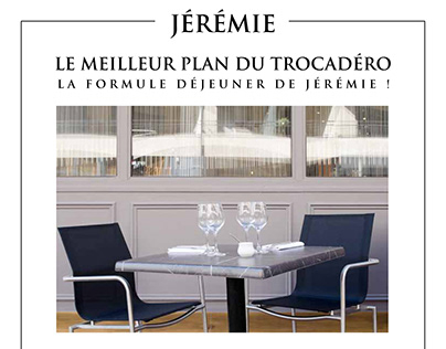 Jeremie restaurant press kit