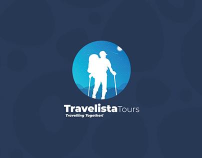 Travelista ( Logo and Brand Identity )