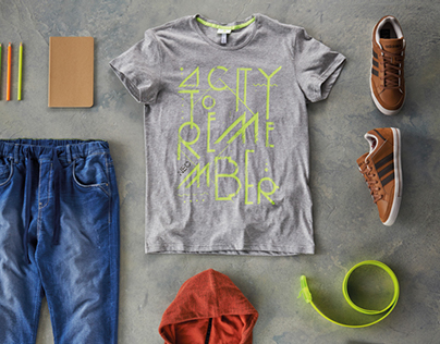"""Adidas NEO   TShirt Design """"A City To Remember"""""""