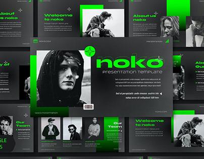 Noko Neon Multipurpose Presentation Template
