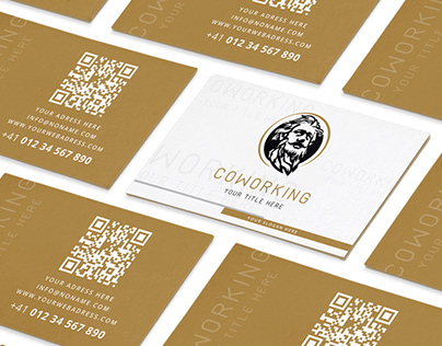 Business Card Design | Coworking Centr