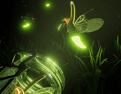 Fireflies Scape